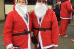 Cllrs at Santa Run
